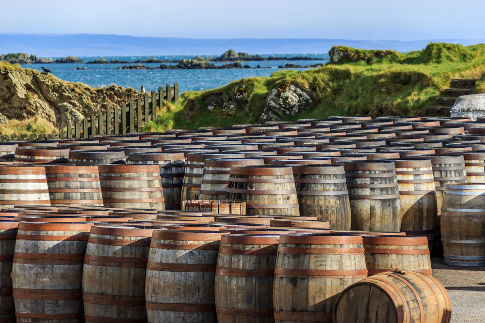 Scottish Whisky Barrels