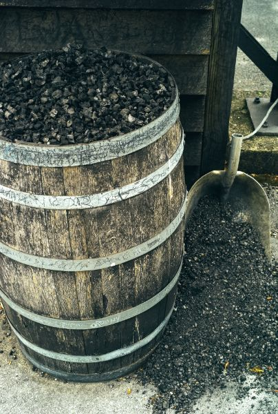 Charcoal Filter for Making Tennessee Whiskey